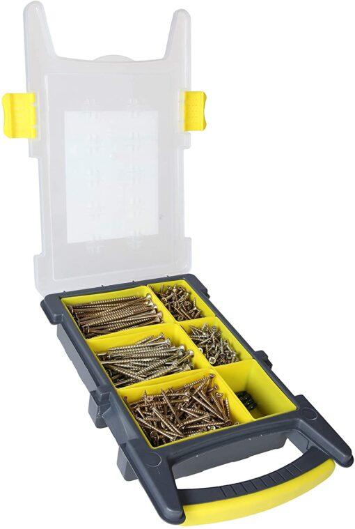 Ulti-Mate Zinc Yellow Site Pack Case 600 Screws