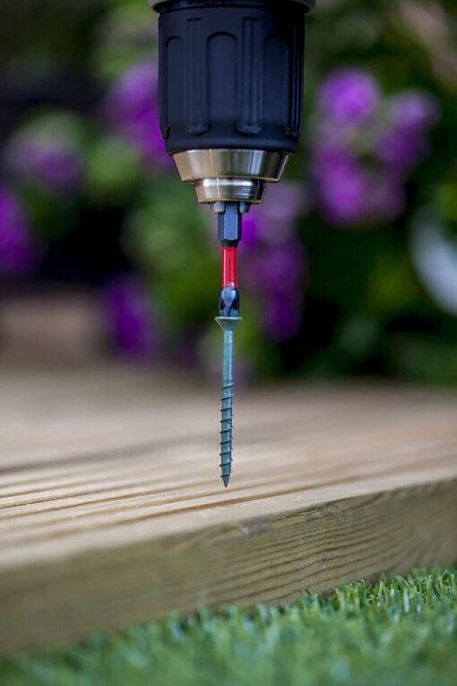 Stick-Fit Decking Screws Site Pack - 550 High-Performance Exterior Wood Screws