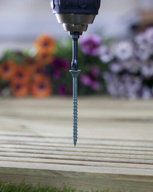 Ulti-Mate Stick-Fit Deck Screws - 4.0 x 65mm - Tub of 350