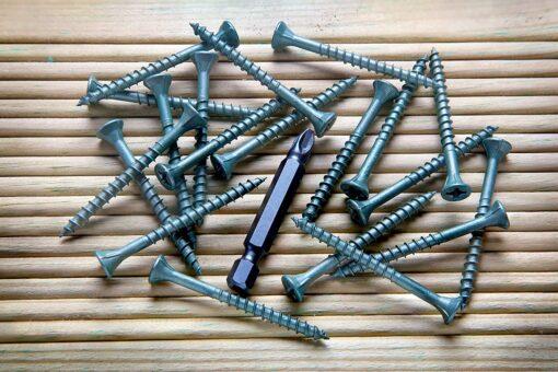 Ulti-Mate Stick-Fit Deck Screws - 4.0 x 50mm - Tub of 500