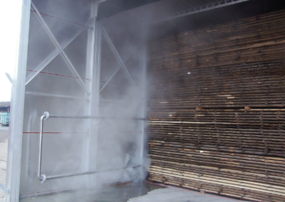 VAP Timber Drying Kilns